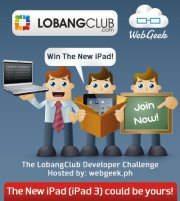 LobangClub/WebGeek Developer Challenge