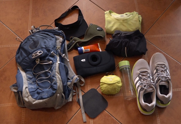 urban hiking gear